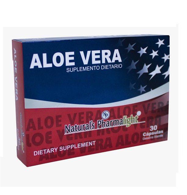 Aloe Vera Americano Original X 30 Capsulas