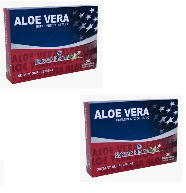 Aloe Vera Americano Original X 60 Capsulas