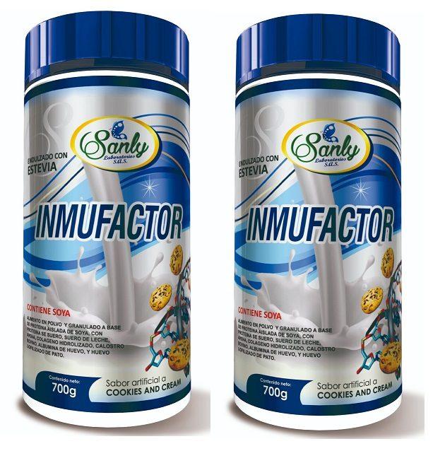 Factor De Transferencia Inmunofactor Tarro Polvo X 700gr