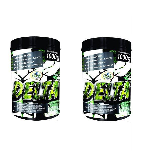 2 Proteina Delta De Suero, Arveja,trigo Tarro Polvo X 1000gr